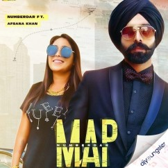 Map ft Afsana Khan song download by Numberdar