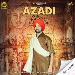 Azadi song download by Harjit Harman