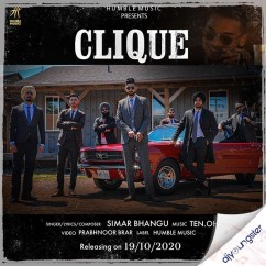 Clique song download by Simar Bhangu