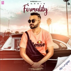 Formality song download by Runbir