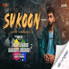 Sukoon song download by Karan Sandhawalia