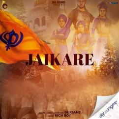 Jaikare song download by Gursanj