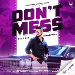 Dont Mess song download by Peter Dhaliwal
