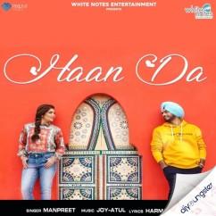 Haan Da song download by Manpreet