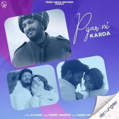 Pyar Ni Karda song download by G Khan