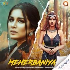 Meherbaniyan song download by Simran Choudhary