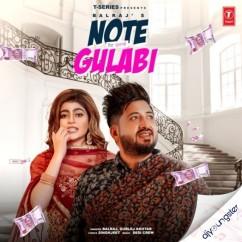 Note Gulabi song download by Balraj