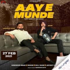 Aaye Munde song download by Varinder Brar